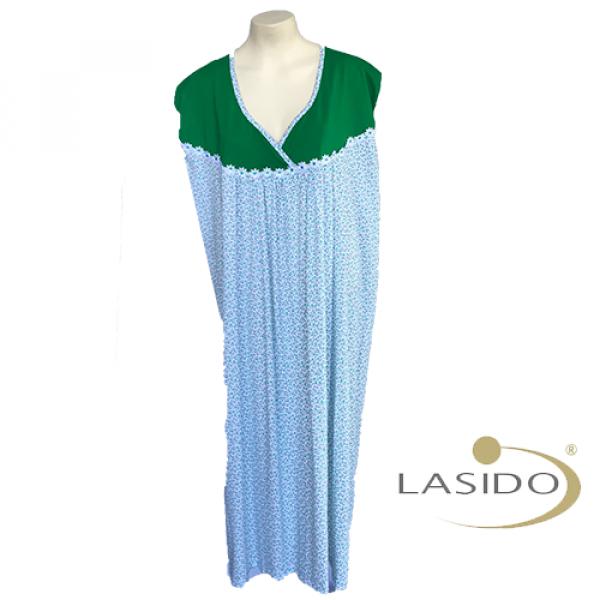 Nachthemd dames met v hals | 100% katoen