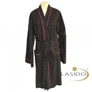 Badjas diverse kleuren met andere kleur rand | 100% katoen