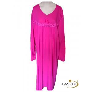 Nachthemd dames met strikje | 100% katoen