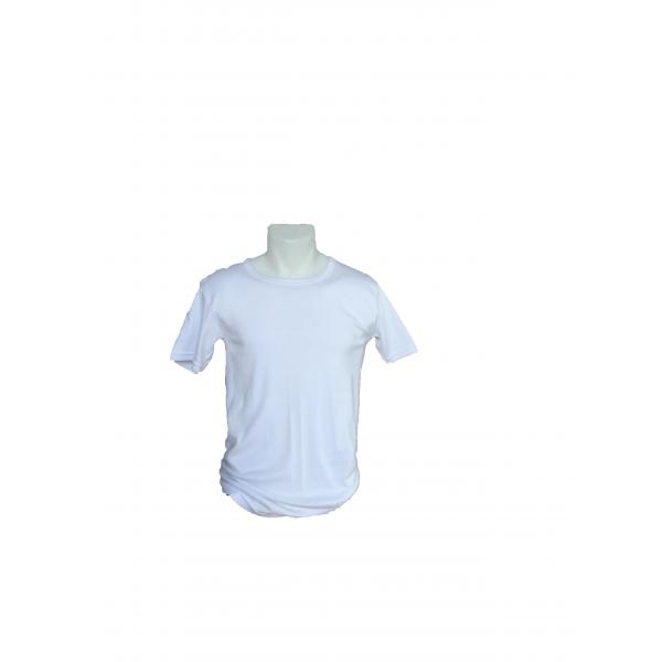 T-shirt basic heren    100% katoen